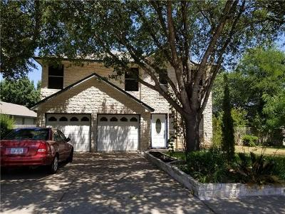 Pflugerville Single Family Home For Sale: 542 Broken Feather Trl