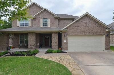 Pflugerville Single Family Home For Sale: 20713 Bellerive Dr