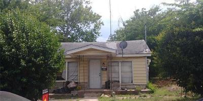 Single Family Home For Sale: 505 Blackson Ave