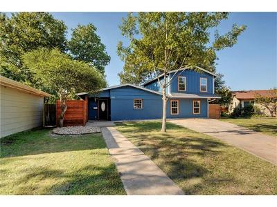 Travis County, Williamson County Single Family Home For Sale: 1305 Suffolk Dr