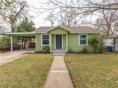 Austin TX Single Family Home For Sale: $448,500