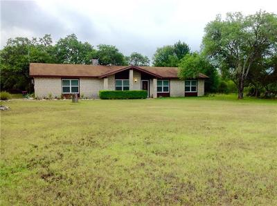 San Marcos Single Family Home For Sale: 113 Pioneer Trl