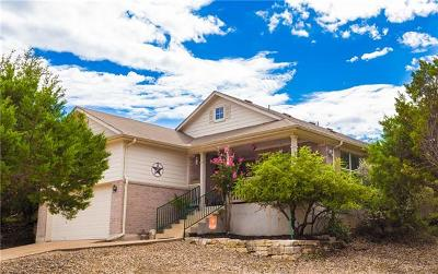 Lago Vista Single Family Home Active Contingent: 3611 High Mountain Dr