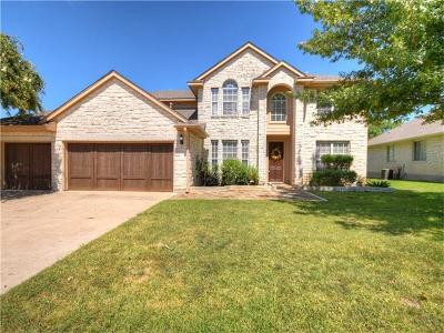 Pflugerville Single Family Home For Sale: 19910 Kennemer Dr