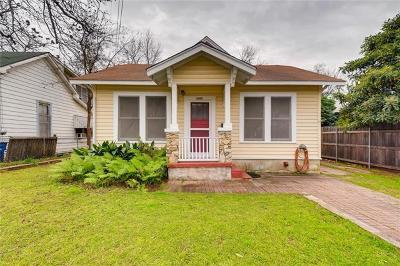 Austin Single Family Home Pending - Taking Backups: 2703 E 2nd St
