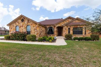 Salado Single Family Home Active Contingent: 9870 Brewer Rd