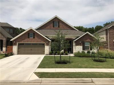 Round Rock Single Family Home For Sale: 808 Expedition Way