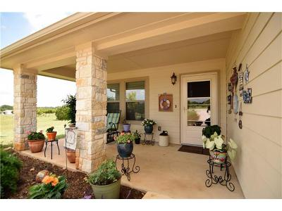 Liberty Hill Single Family Home Pending - Taking Backups: 120 Lost Oaks Ct