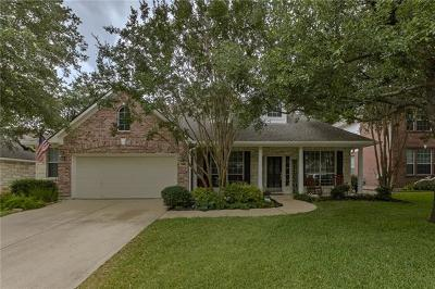 Cedar Park Single Family Home Pending - Taking Backups: 1319 Hunter Ace Way