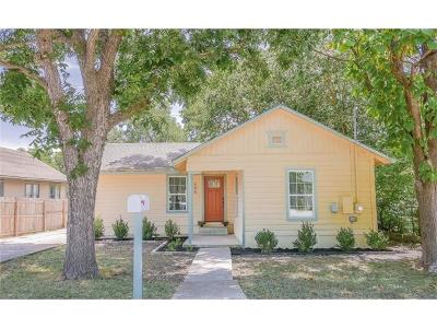 Taylor Single Family Home For Sale: 606 E Pecan St