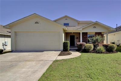 Hutto Single Family Home For Sale: 220 Tolcarne Dr