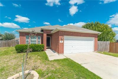 Kyle Single Family Home For Sale: 116 Amberwood Cv
