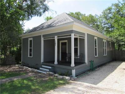 Hutto Single Family Home Pending - Taking Backups: 107 Hutto St