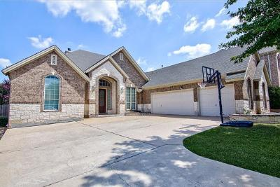Round Rock Single Family Home For Sale: 2821 Cool River Loop