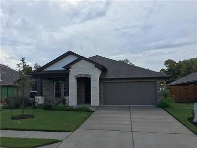 Bastrop County Single Family Home For Sale: 140 Swift Water Loop