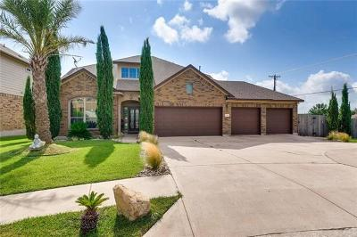 Pflugerville Single Family Home For Sale: 20501 Huckabee Bnd