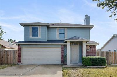Hutto Single Family Home For Sale: 204 Meadowside Dr
