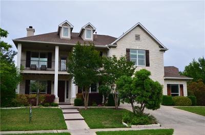 Cedar Park Single Family Home Pending - Taking Backups: 3208 Appennini Way