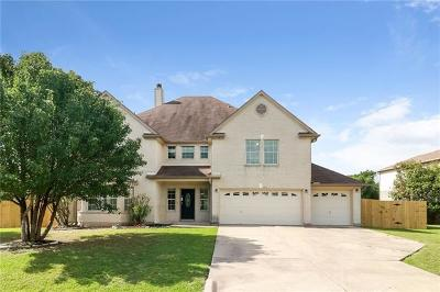 Round Rock Single Family Home For Sale: 113 Silver Lace Ln