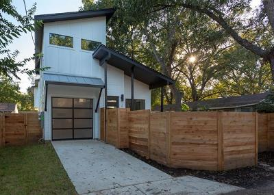 Travis County Single Family Home For Sale: 2210 Canterbury St #2