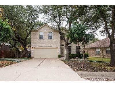 Cedar Park Single Family Home For Sale: 2119 Simbrah Dr