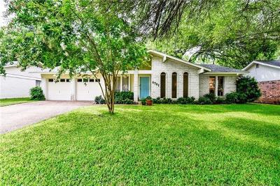 Austin Single Family Home For Sale: 8701 Primrose Ln