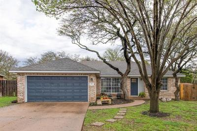Cedar Park Single Family Home For Sale: 611 Blue Oak Cir