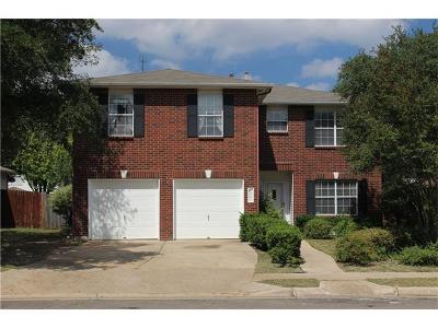 Cedar Park Single Family Home For Sale: 1903 Parksville Way
