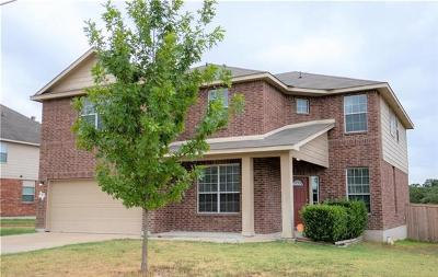 Harker Heights Single Family Home For Sale: 513 Cattail Cir