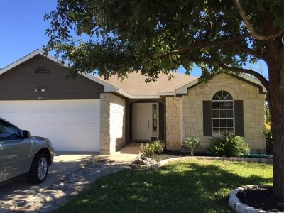 Hutto Rental For Rent: 302 Meadowside
