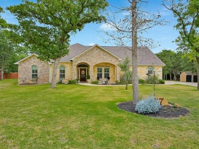 Bastrop Single Family Home Pending - Taking Backups: 137 Valley View Dr