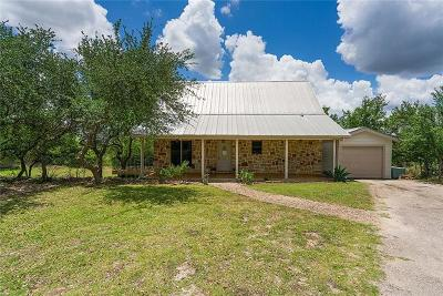 Dripping Springs Single Family Home For Sale: 17509 Panorama Dr