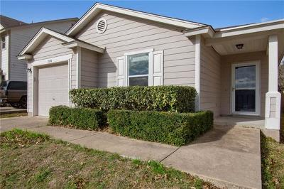 Pflugerville Single Family Home Pending - Taking Backups: 13714 Merseyside Dr