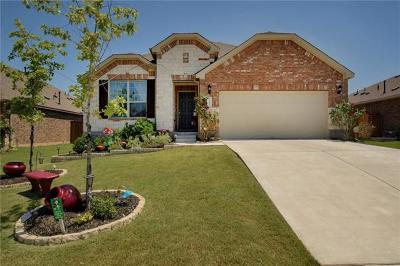 Round Rock Single Family Home For Sale: 3605 Esperanza Dr