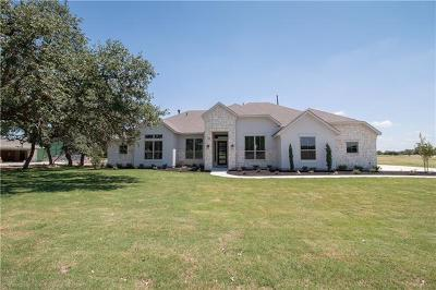 Dripping Springs Single Family Home For Sale: 529 Bunker Ranch Blvd