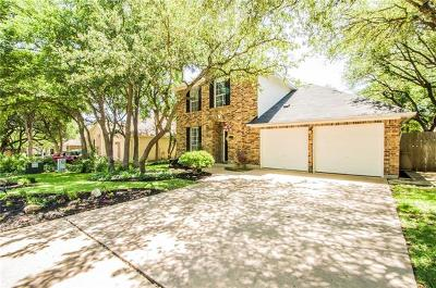 Cedar Park Single Family Home For Sale: 1104 Sugarberry Dr