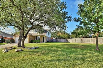 Round Rock Single Family Home For Sale: 3416 Winding River Trl