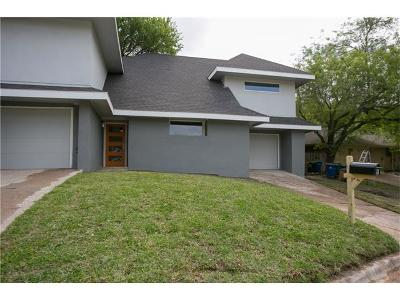 Travis County Condo/Townhouse For Sale: 2101 Airole Way #B