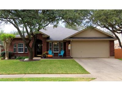 Cedar Park Single Family Home Pending - Taking Backups: 1803 Country Squire Dr