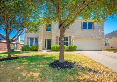 Pflugerville Single Family Home Pending - Taking Backups: 616 Busleigh Castle Way