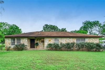 Hays County, Travis County, Williamson County Single Family Home For Sale: 12747 Burson Dr