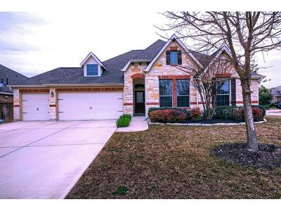 Round Rock Single Family Home For Sale: 2901 Castellan Ln