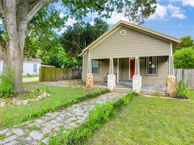 Lockhart Single Family Home Pending - Taking Backups: 631 S Church St