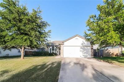 Hutto TX Single Family Home For Sale: $202,000