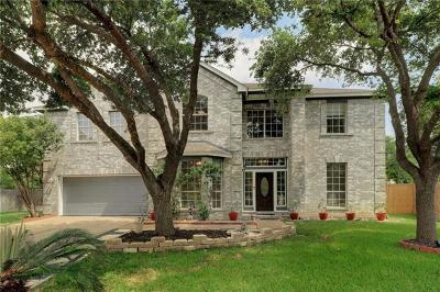 Cedar Park Single Family Home For Sale: 1313 Dove Haven Loop