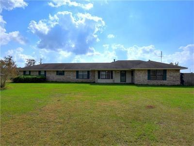 Giddings Single Family Home For Sale: 231 Serbin Rd