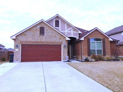 Harker Heights TX Single Family Home For Sale: $289,990