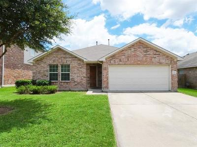 Round Rock Single Family Home For Sale: 1330 Rainbow Parke Dr