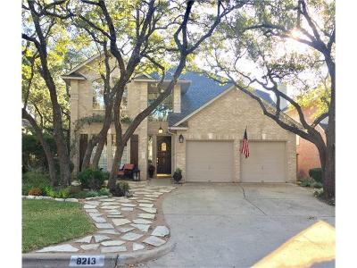 Travis County Single Family Home For Sale: 8213 Cheno Cortina Trl