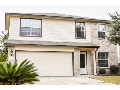 Taylor Single Family Home For Sale: 2108 Canvas Back Dr